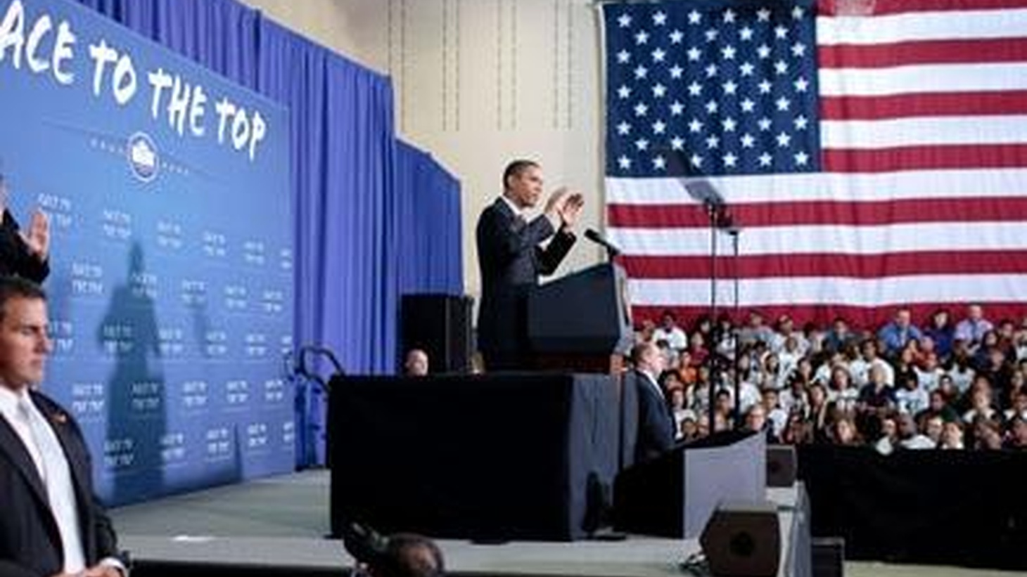 """President Obama's """"Race to the Top"""" in Education features charter schools and standardized tests to evaluate teacher performance. Will it improve the much-criticized """"No Child Left Behind"""" or is it the same, only more so? Also, Iraq uncovers bomb and assassination plots. On Reporter's Notebook, abortion, manslaughter and first-degree murder in a Kansas courtroom."""