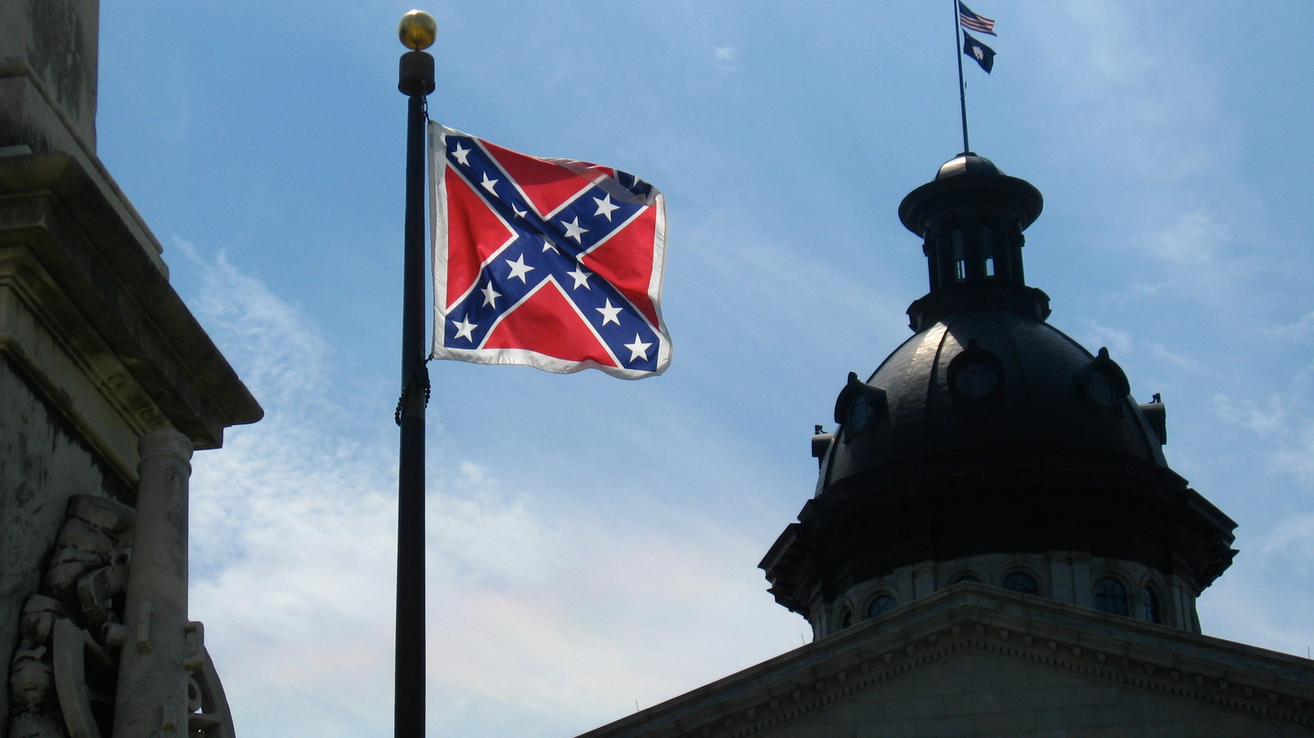 Yesterday, the  US Supreme Court said  Texas does not have to provide state license plants that include the Confederate Flag.  But the flag still flies in some southern states, including South Carolina.