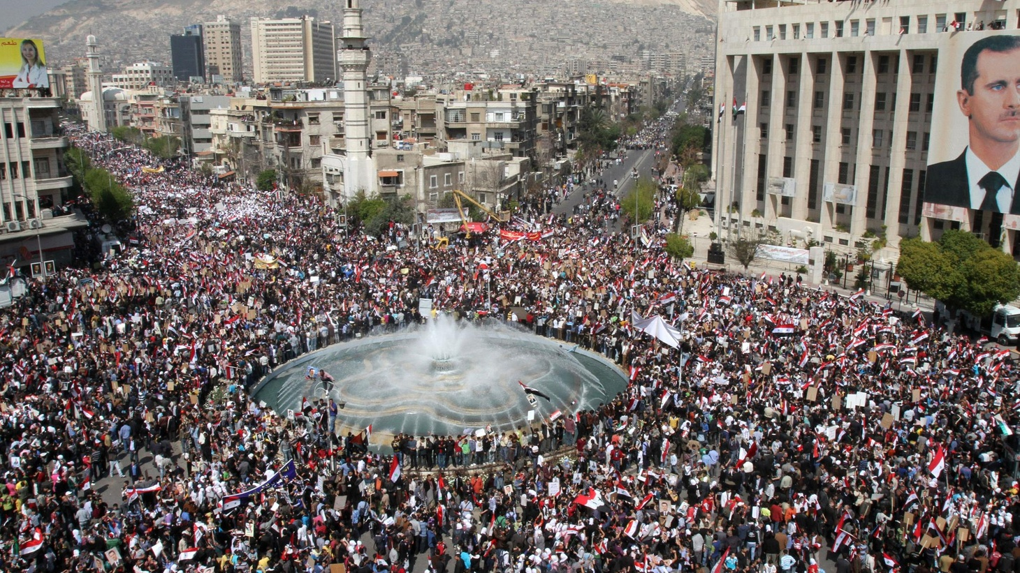 Syria has been beset by protests similar to those that have brought down other governments in the region. Guest host Sara Terry considers whether the regime can hold on to power.