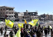 US backed militias defeat ISIS in its Syrian capital of Raqqa