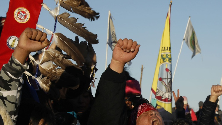 A victory — or not victory — in Standing Rock, North Dakota.