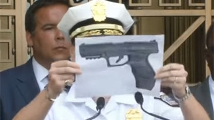 Police across the nation say that more and more they are encountering people with ultra-real looking weapons.