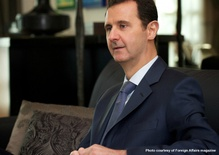 Four Years into Syria's War, a Conversation with al-Assad
