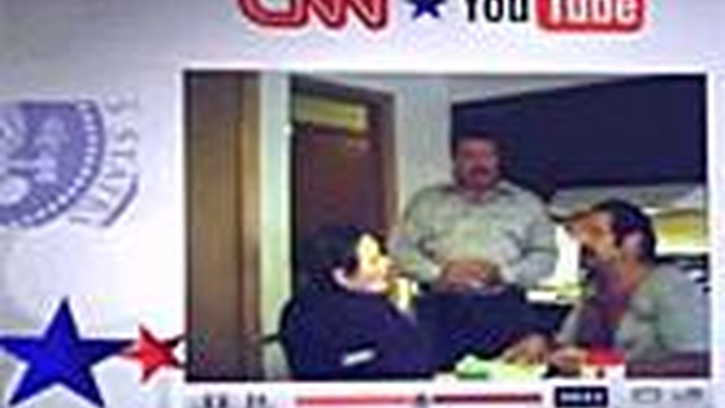 Democratic presidential candidates last night faced questions posed by ordinary citizens on amateur video. CNN promoted it as the beginning of real change in the style and substance of American politics. Also, round two of US-Iran talks on Iraq, and Commissioner David Stern on charges that a referee bet on professional basketball.