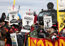 North Dakota pipeline protests reach boiling point