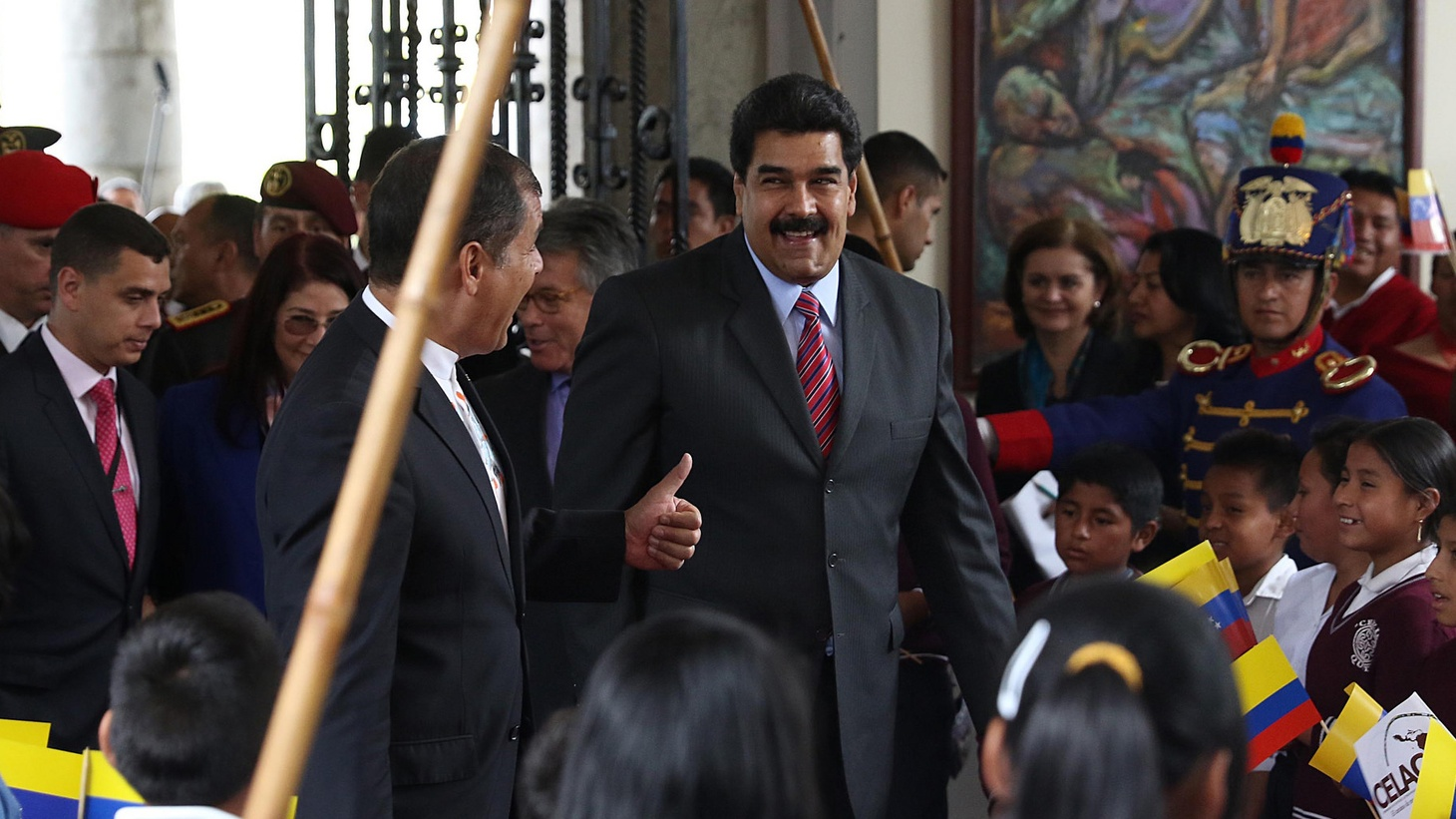 In Venezuela, an economic crisis is causing a public health crisis and President Nicolas Maduro has imposed a state of emergency amid real concern that his government is on the verge of collapse. Nicholas Casey is in Caracas, reporting for the  New York Times .       Photo: President Nicolas Maduro ( Agencia de Noticias ANDES )