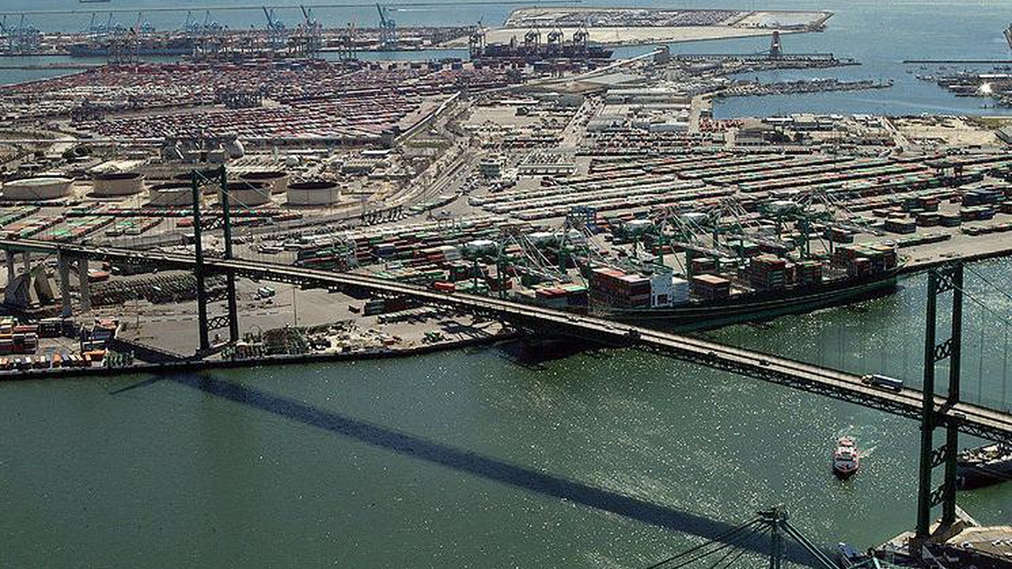It's the economy versus the health of people living near the Port of Los Angeles who are opposed to a massive new facility to be built there.