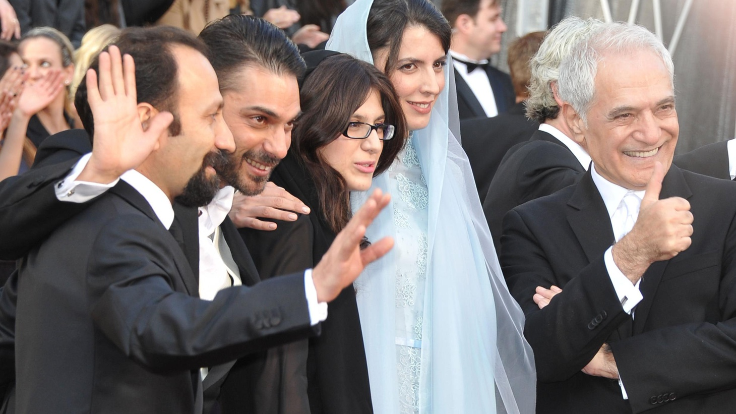The Best Foreign Language Film was shot by Iranians in Iran, but the biggest Oscar celebrations may have been among expats. We hear about the reception in Iran and LA.