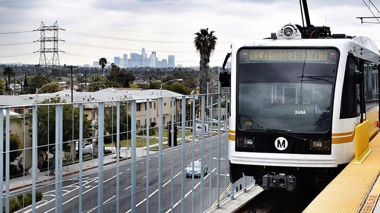 Westside commuters get their first chance to take rapid transit downtown. Also, LA County Assessor denies doing favors for campaign donors. And how about them Clippers?