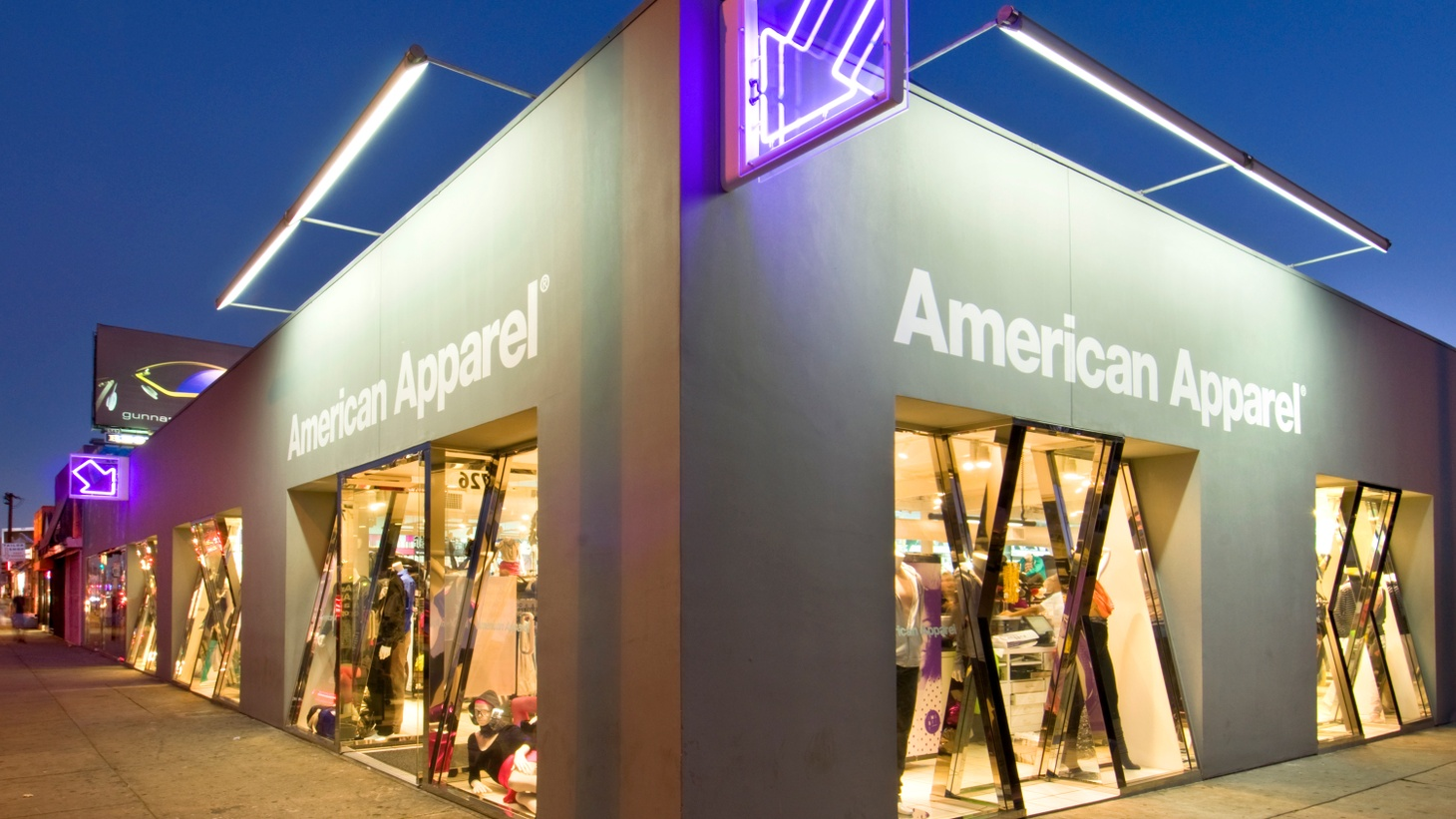 """Dov Charney demonstrated that clothes """"Made in America"""" could be hip and trendy at the same time making big money. His largely immigrant workforce worked in """"no-sweatshop conditions"""" in downtown LA. When the magic ended is a matter of legal dispute, but less than a year since Charney was fired for alleged sexual harassment, American Apparel now says bankruptcy may be near. What's at stake for the garment industry in Southern California?"""