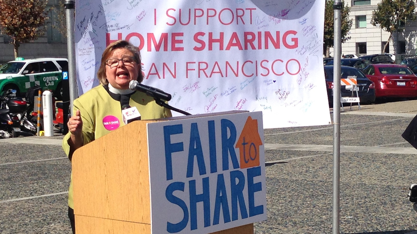 "The tech colossus Airbnb spent $9 million to defeat  Measure F  yesterday in San Francisco's local election. The measure was just one part of a campaign described as being about ""the soul of the city."" 