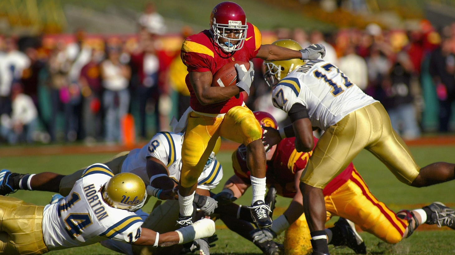 USC's football team will be banned from bowl games for two years and deprived of athletic scholarships. At the same time, the PAC-10 Athletic Conference is expanding. We look at what's supposed to be amateur sports -- and the influence of money. Also, the attacks are already flying in the race for Attorney General. On our rebroadcast of To the Point, will the President's moratorium on deep-water exploration have as much impact on the Gulf state's economy as the oil spill?