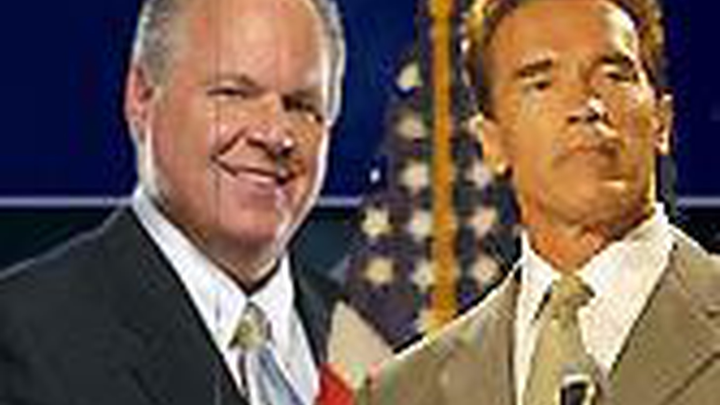Governor Schwarzenegger went on the Rush Limbaugh program today. Limbaugh still accused him of compromising Republican principals. Is Schwarzenegger a Republican, a Democrat--or something in between? Is ideology a hindrance to governing? Also, the first Persian mayor of an American city, Jimmy Delshad of Beverly Hills.