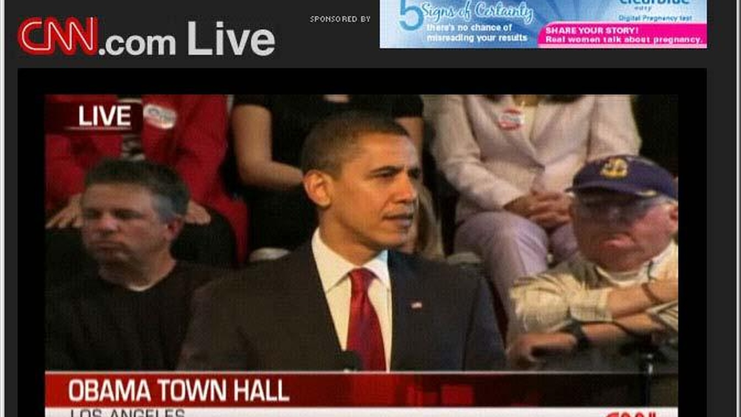 "For the second day in a row, the White House staged what was more like a campaign event than the ""town hall"" that was advertised. Most of President Obama's time was devoted to questions from the local audience, but a lot of his answers were directed to the politicians and special interest groups he left behind in Washington."