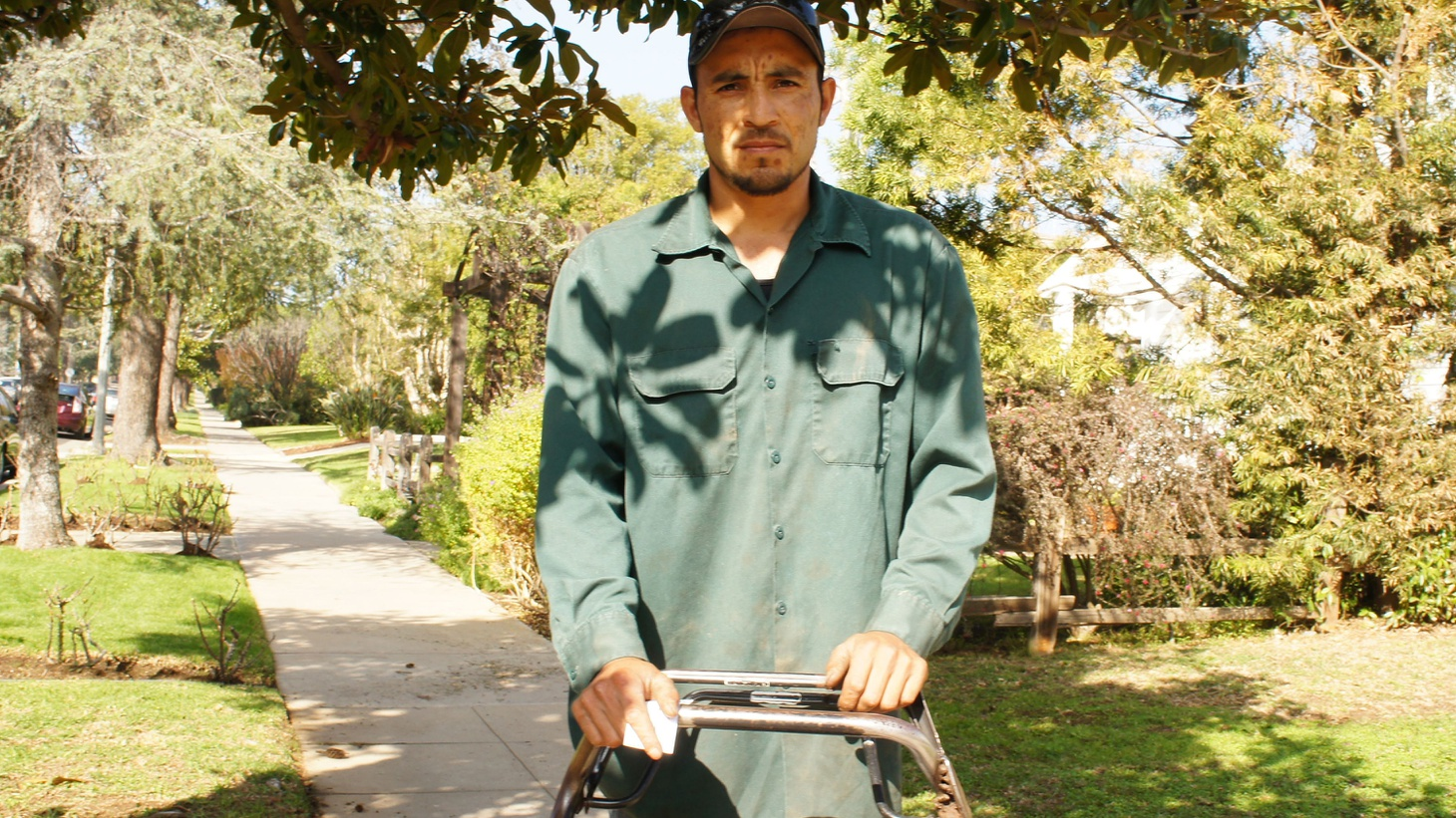 Drought or no drought, suburban lawns and year-round residential gardens are part of the good life in Southern California. To tend them, homeowners have long relied on a workforce of newcomers. 