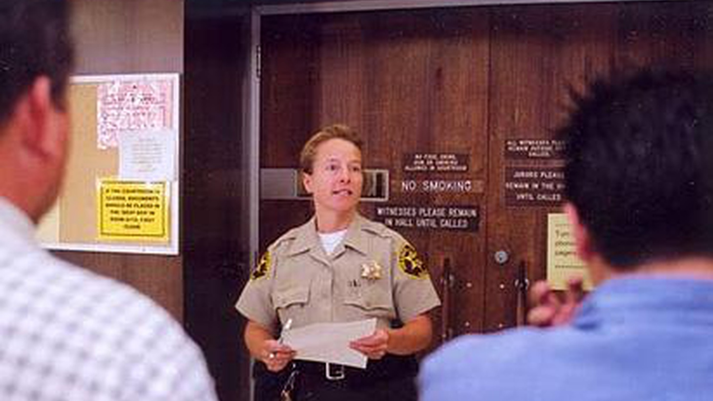Trials for everything from small claims to felonies will be delayed because the legislature has chopped another 10 percent from the budget of California's court system...