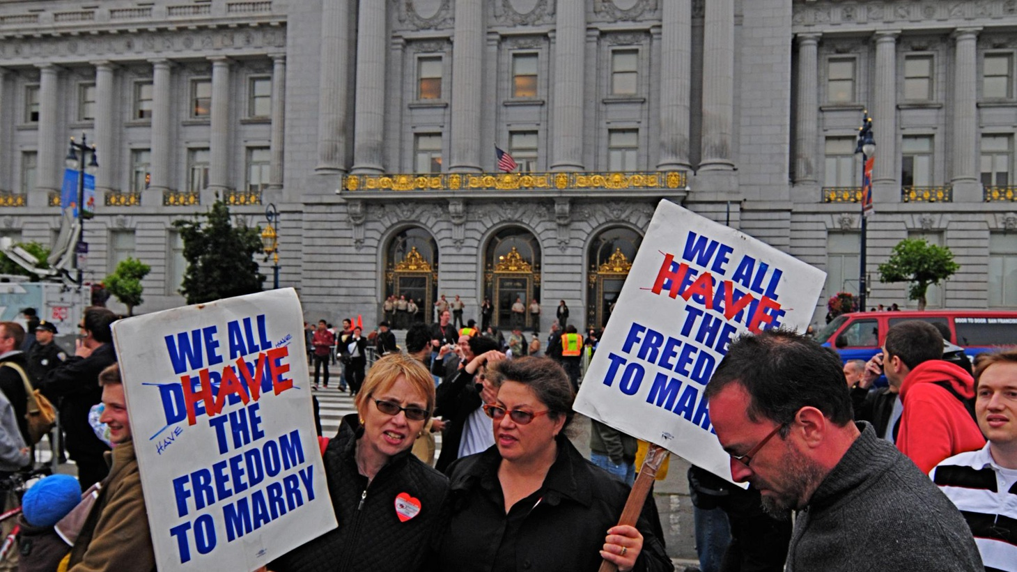After California voters banned same-sex marriage, federal courts declared it unconstitutional. Tomorrow, the Supreme Court will hear the case. What are the options?
