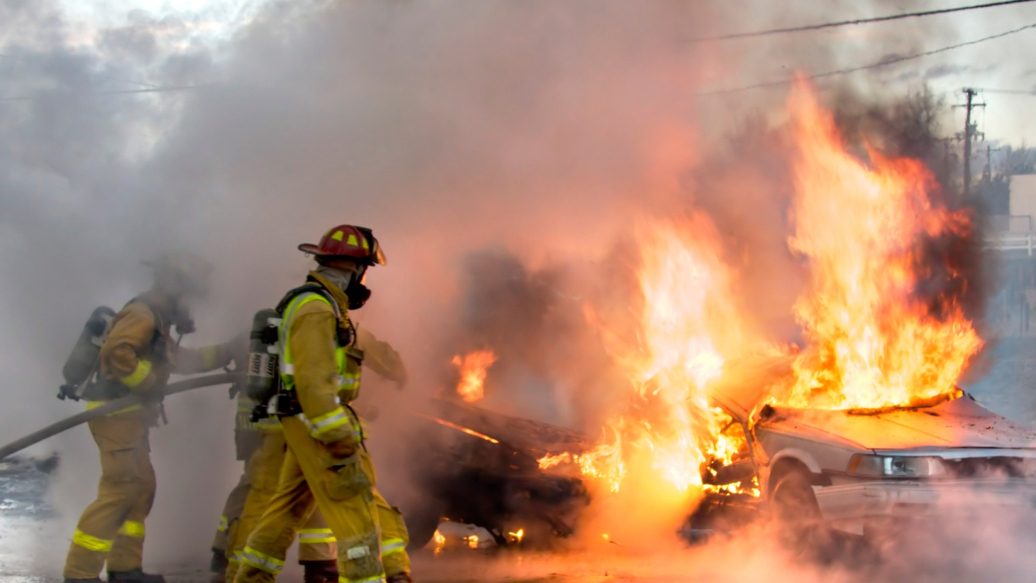 In a major disaster in LA County, cops and firefighters in 88 cities should be able to talk to each other. But the federal government has suspended funding for a single communications system to replace 40 separate networks. It's all about claims that giant new cellphone towers on fire stations will increase the risk of cancer in local neighborhoods.