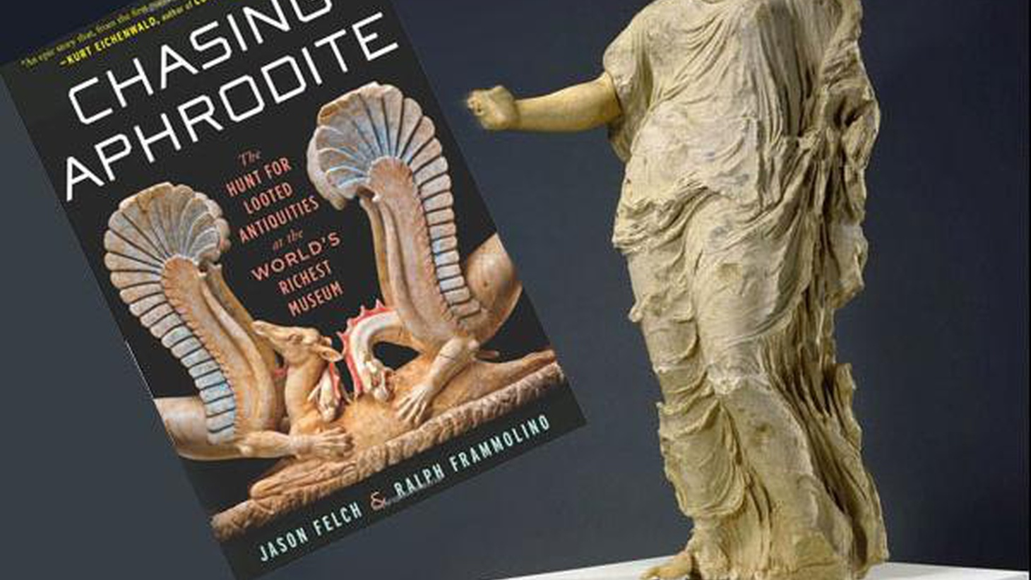The Getty's famous statue of Aphrodite has gone home from Malibu to a small town in Sicily. A new book tells the story of beauty, corruption and the waste of millions...
