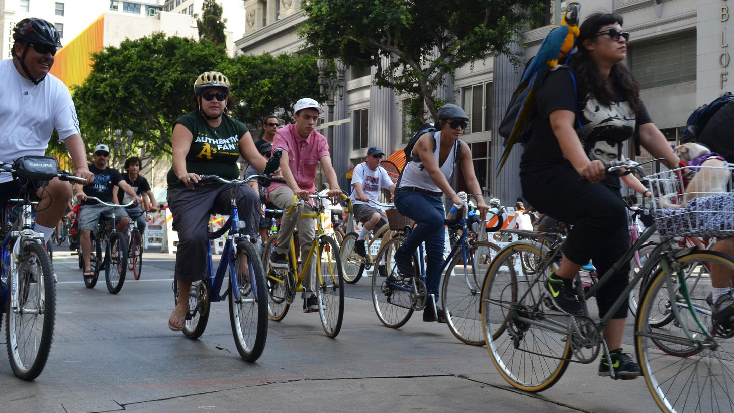 On Sunday, Venice Boulevard Westbound will car-free from downtown LA to Venice Beach. CicLAvia is designed to encourage commuting by bike in the car capital of the world.