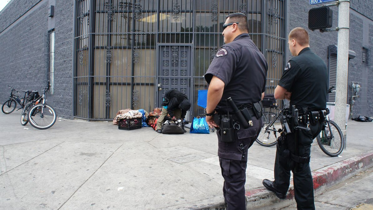 LA's homeless population is on the increase, especially downtown and in Venice. As those neighborhoods gentrify, complaints about unsafe and unsightly homeless encampments are increasing, too. Now the City Council is making it easier to break up those encampments — in the process making it harder for the homeless to keep track of what possessions they have.