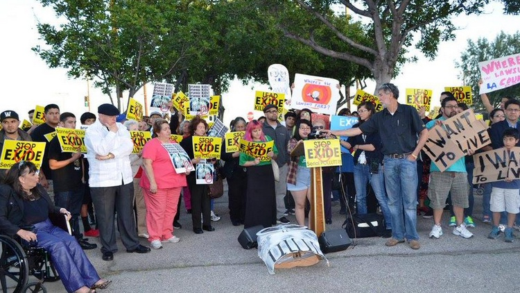 For decades, there've been reports of toxic contamination from the Exide battery recycling plant in Vernon.