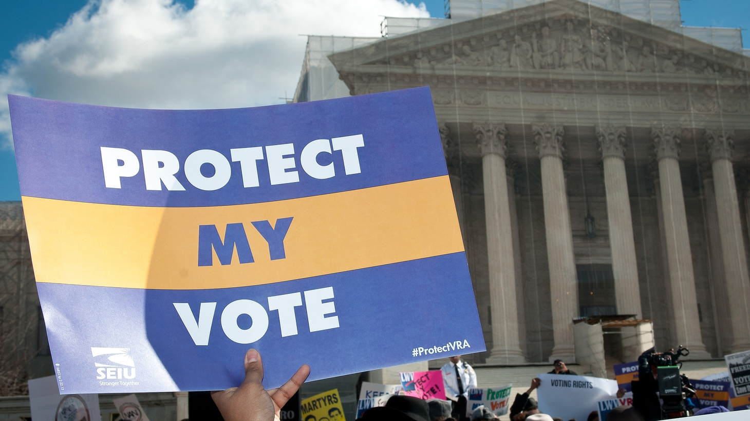 """In 1964, the US Supreme Court's """"one person, one vote"""" ruling gave new political power to minorities and the young in urban centers — especially Los Angeles. Now the Court may decide that a """"person"""" should be defined as an """"eligible voter,"""" and that could turn the tables again. We hear how that could re-make city councils, county boards of supervisors, and the state legislature."""