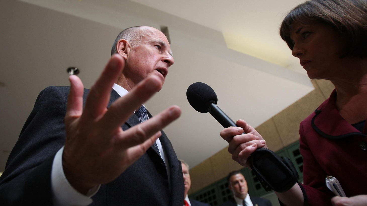 Republicans Pounce on Attorney General Jerry Brown, whose press secretary might have broken state law by taping a phone conversation without asking permission from the other party. Also, the brown pelican is off the endangered species list. On our rebroadcast of To the Point, as President Obama goes to Asia, the US is still in deep trouble while China is riding high.