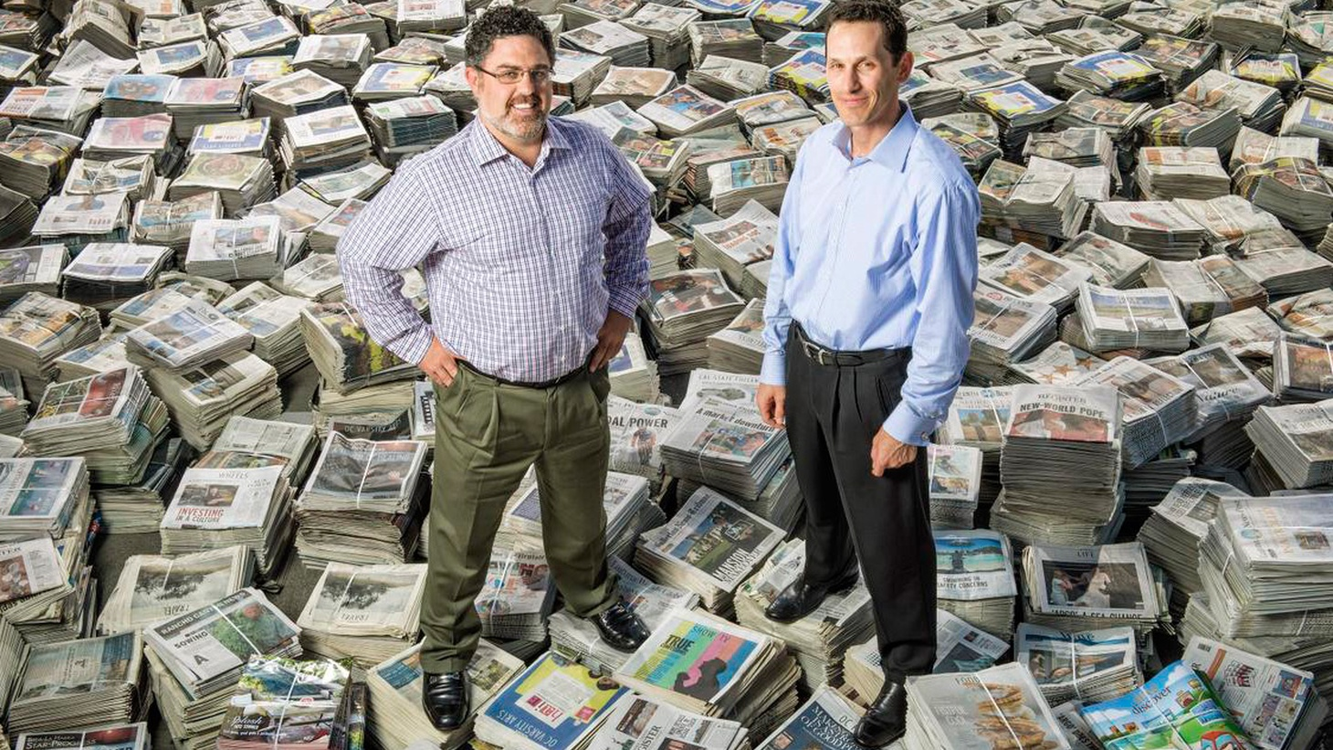 """The """"white knight"""" who rode in to rescue the Orange County Register three years ago has resigned all executive duties. Where did Aaron Kushner go wrong? What's in store for readers of the Register, the Riverside Press Enterprise — and the LA Times, which reportedly wants to buy UT San Diego, even though Times' profits are down by 54%? We look at print journalism's local future."""