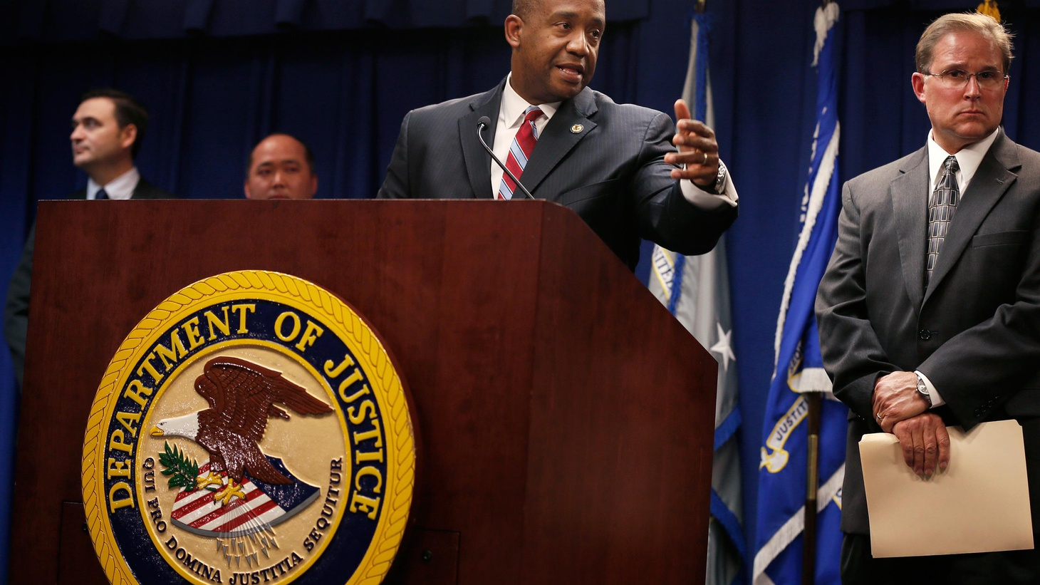 Federal authorities have indicted arrested 17 deputies. They're accused of corruption and civil rights abuses at downtown jails. Even visitors allegedly were abused.