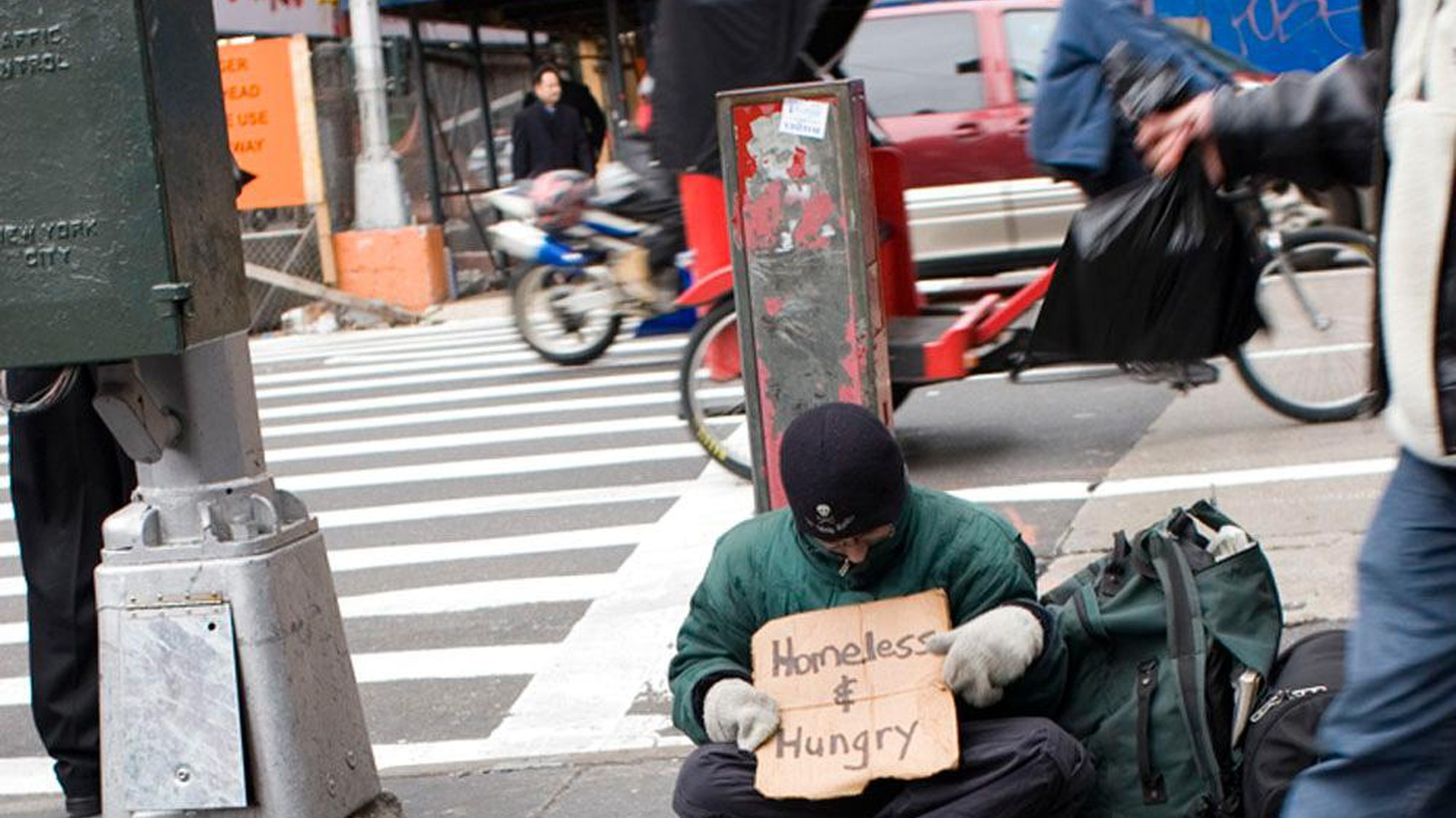 LA's growing homeless population makes feeding people who live on the streets more urgent than ever, but a backlash has led to a move to restrict feeding in public places.