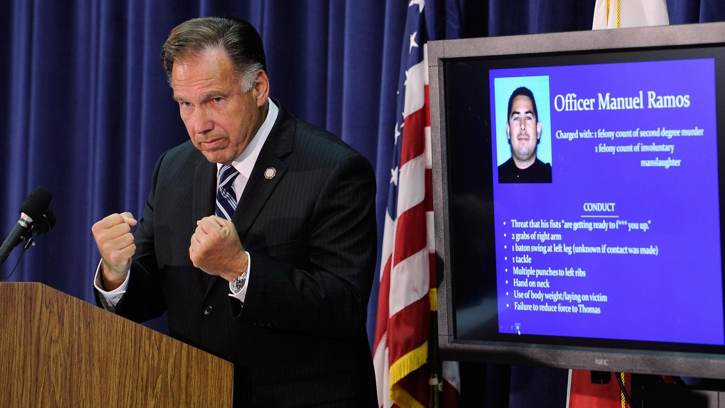 The OC Weekly says conservative Orange County will never be the same. DA Tony Rackauckas has charged one Fullerton policeman with murder and another with involuntary manslaughter...