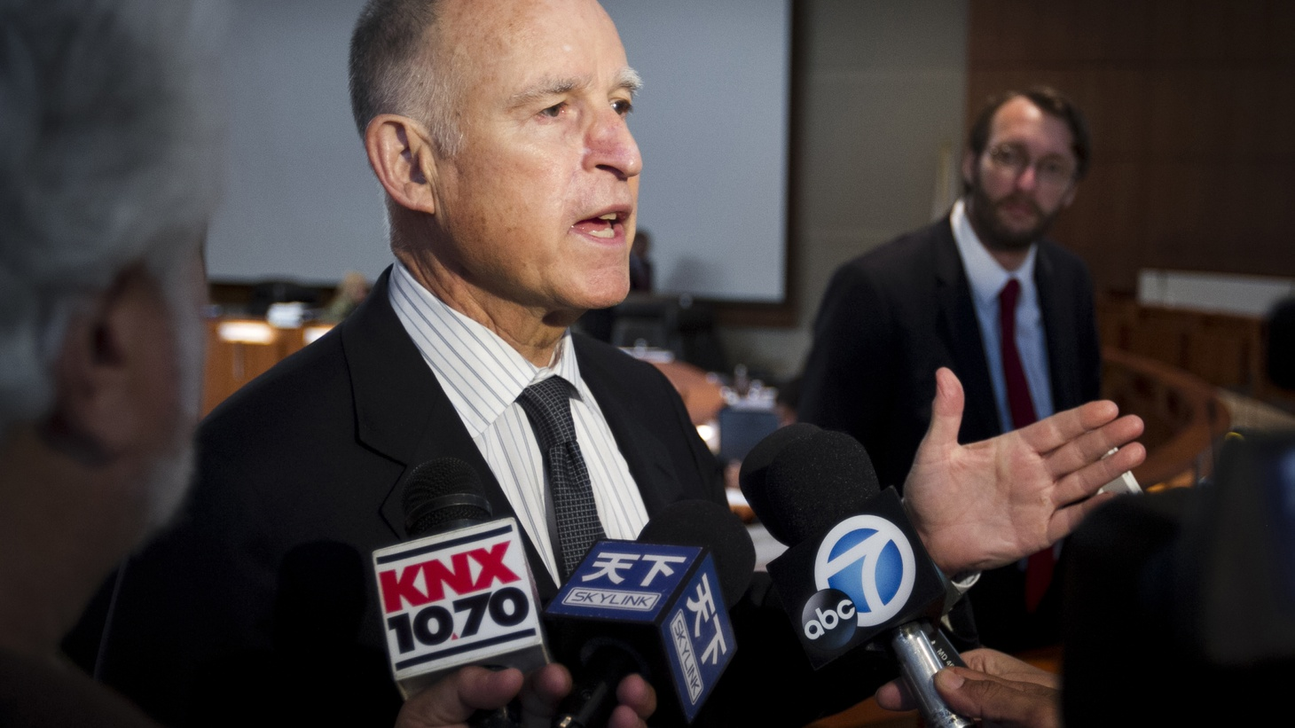 Jerry Brown wants to be the only four-term Governor in California history, but you'd hardly know he's campaigning for re-election next month. We compare the pragmatist he is now with the reformer he was when he first was elected four decades ago.