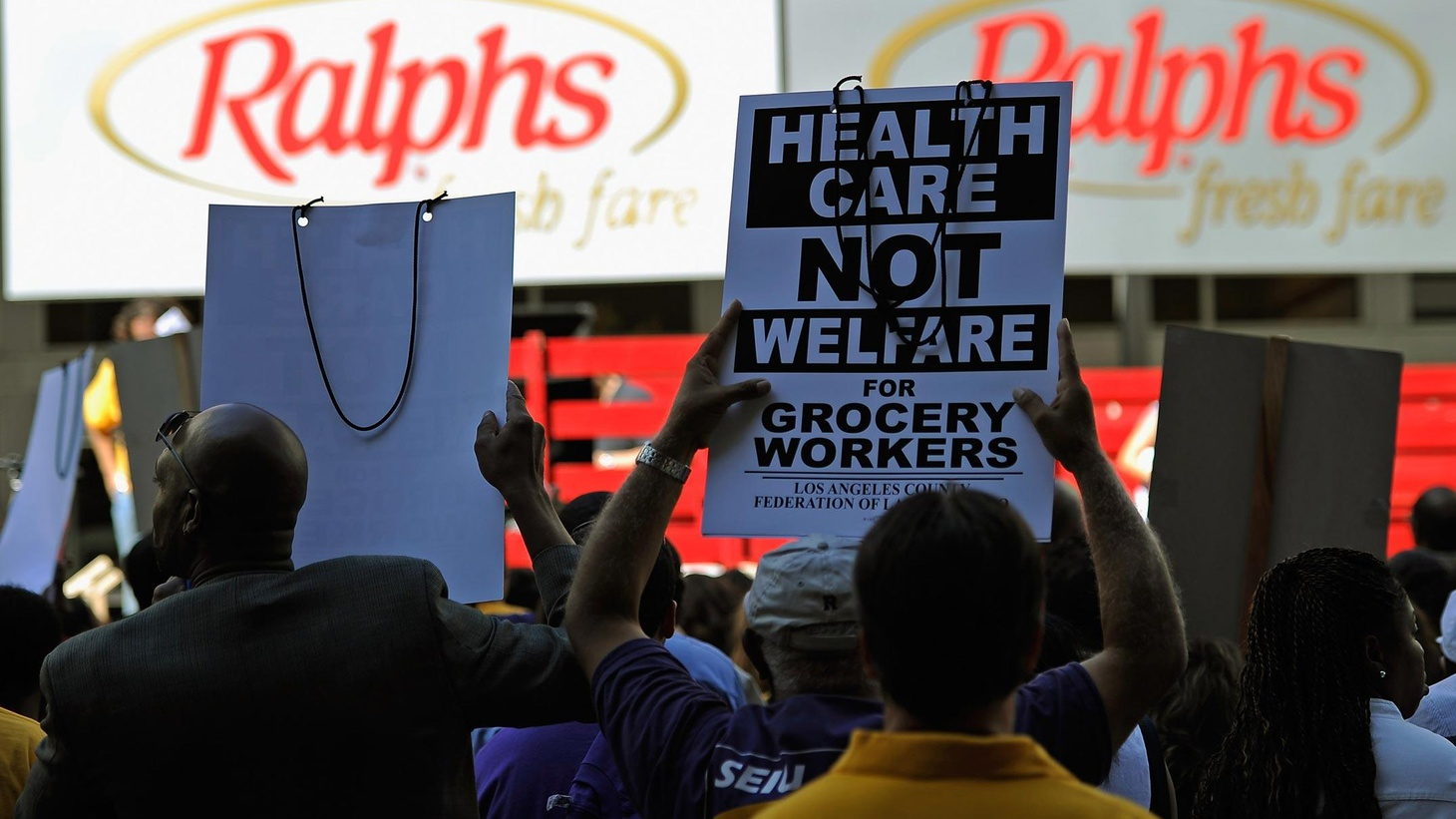 If members of the UFCW ratify a tentative deal, Ralph's, Vons, Albertson's and 54,000 employees will have dodged a bullet. Picket signs had been handed out before the...