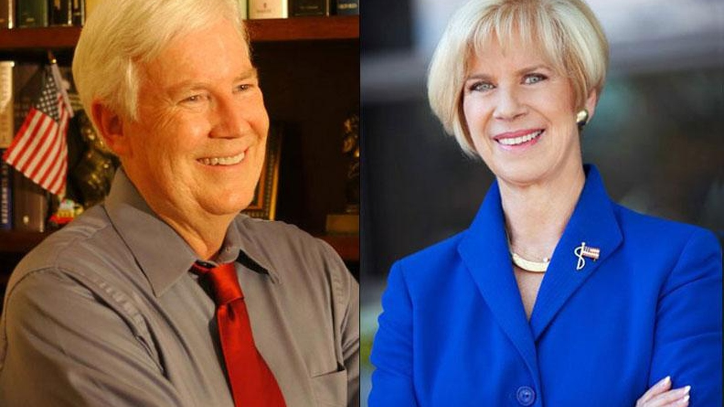 LA City Council member Janice Hahn is getting a tough race from direct-mail marketer Craig Huey in a nasty Congressional race that also could be a close one...