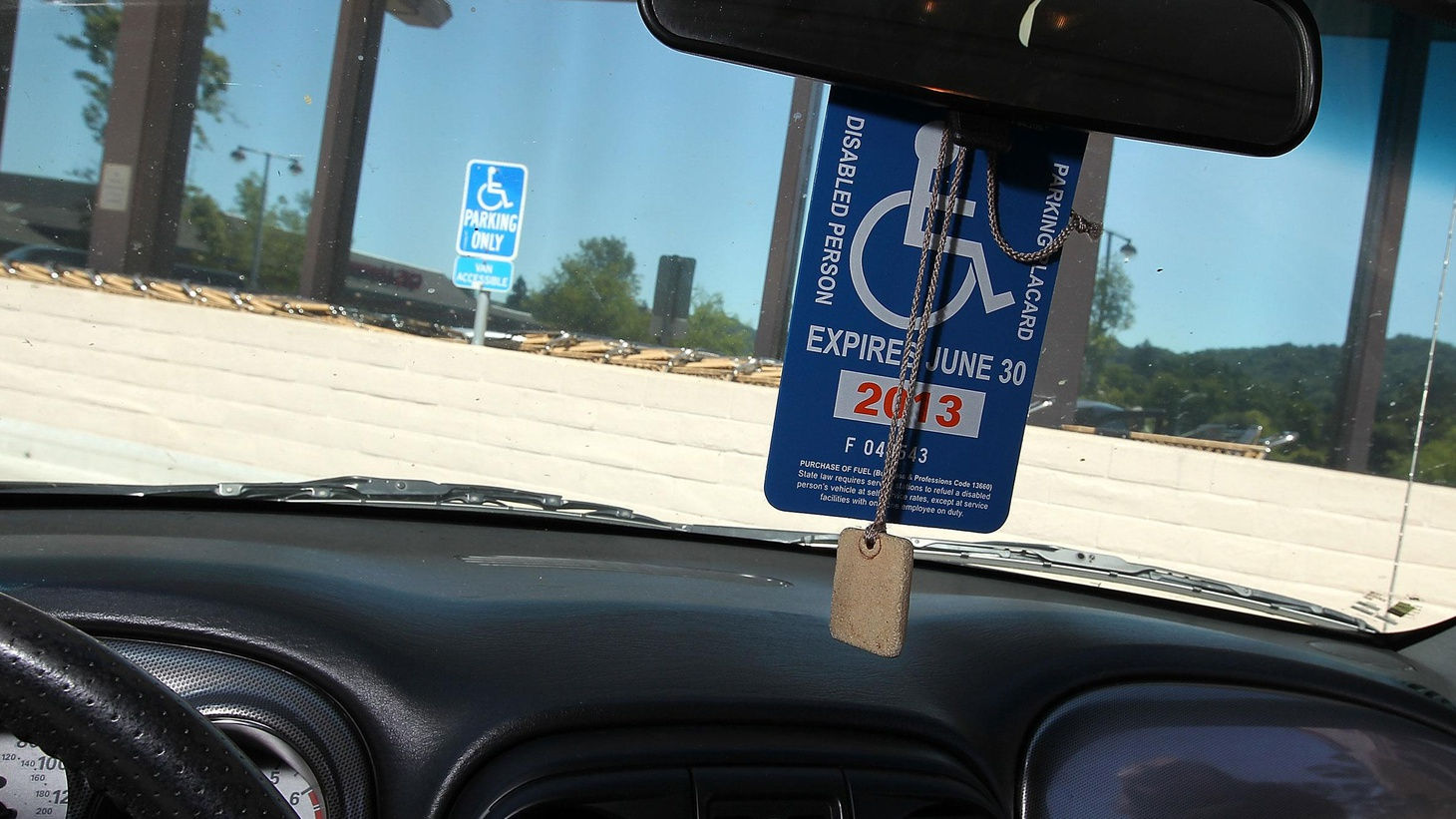 Ever wondered if drivers with disabled placards were really disabled? The DMV says many aren't, but privacy laws don't even allow enforcement officers to ask.