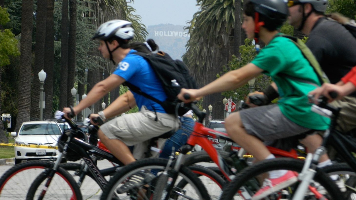 """Kids in California have been required to wear bicycle helmets for 21 years. In Sacramento, the Senate is considering the first state law in the nation to mandate helmets for adults who cycle, too. Despite studies showing """"substantial protection"""" from injuries in accidents, the California Bicycle Coalition is up in arms. We find out why."""