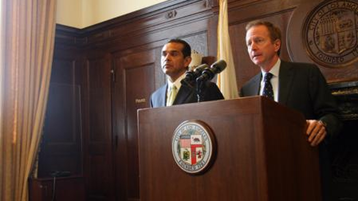 "Austin Beutner is Mayor Villaraigosa's latest pick to head the Department of Water and Power.  Today's Daily News calls him a ""man of mystery."" Can a banker and financier run a public utility? What about increased utility rates and ""green"" power? We talk with Beutner. On our rebroadcast of To the Point, in a Top Secret memo, Defense Secretary Robert Gates said there's no long-range plan to deal with Iran if it learns to make nuclear weapons. Gates denies it was a ""wake-up call."""