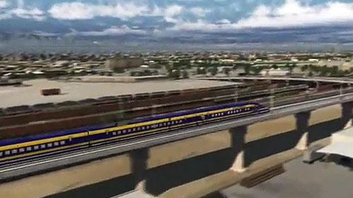 The claim that railroads built the West is being re-examined by historians, as is the claim that high-speed rail will solve the state's future transportation needs...
