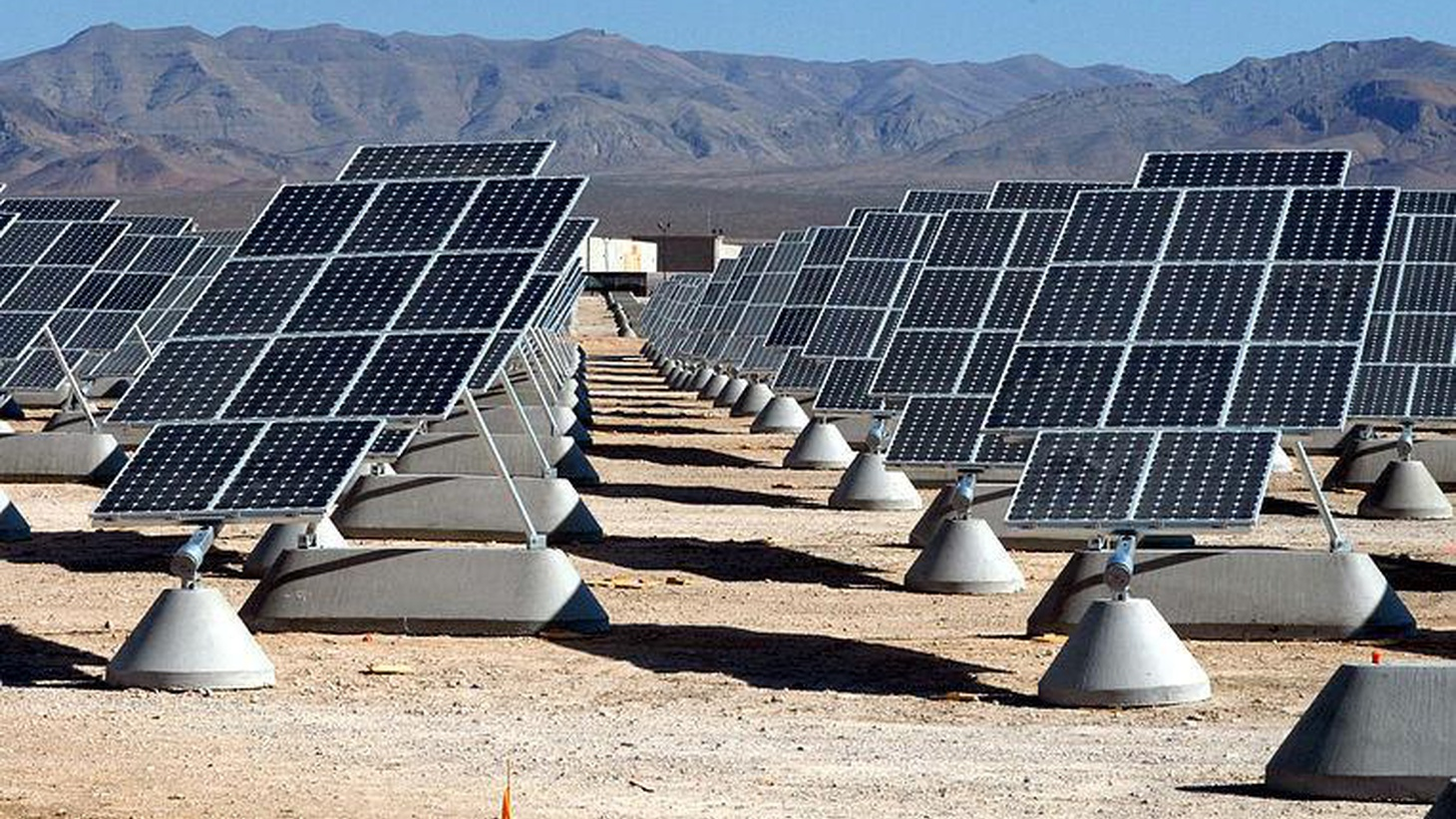 Five years after the President's initiative for large-scale solar plants, just three are in operation. We hear about the changing dynamics of renewable energy.