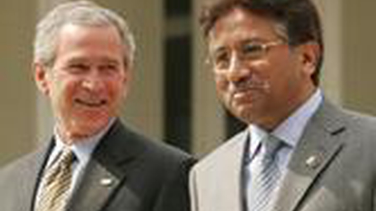 President Musharraf of Pakistan surprised the world today with his announcement that he would not show up tomorrow to meet with Afganistan's President Karzai—something President Bush was very much hoping would happen.