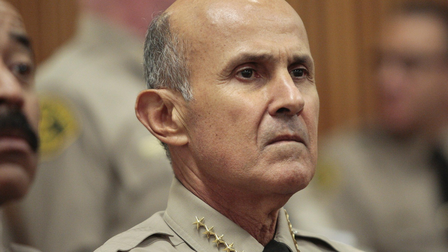 "Saturday's Los Angeles Times carried an editorial titled, ""Don't Run Again, Sheriff Baca.""   What are Baca's plans for next year's re-election?"