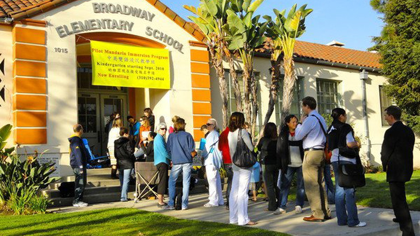 Parental demand caused a Chinese language immersion program to outgrow its campus in Venice on LA's Westside. Plans were made to expand it in nearby Mar Vista. Residents there said the program was okay, but didn't want the traffic and other consequences in their backyard. LA Unified's final solution: cut the program in half.