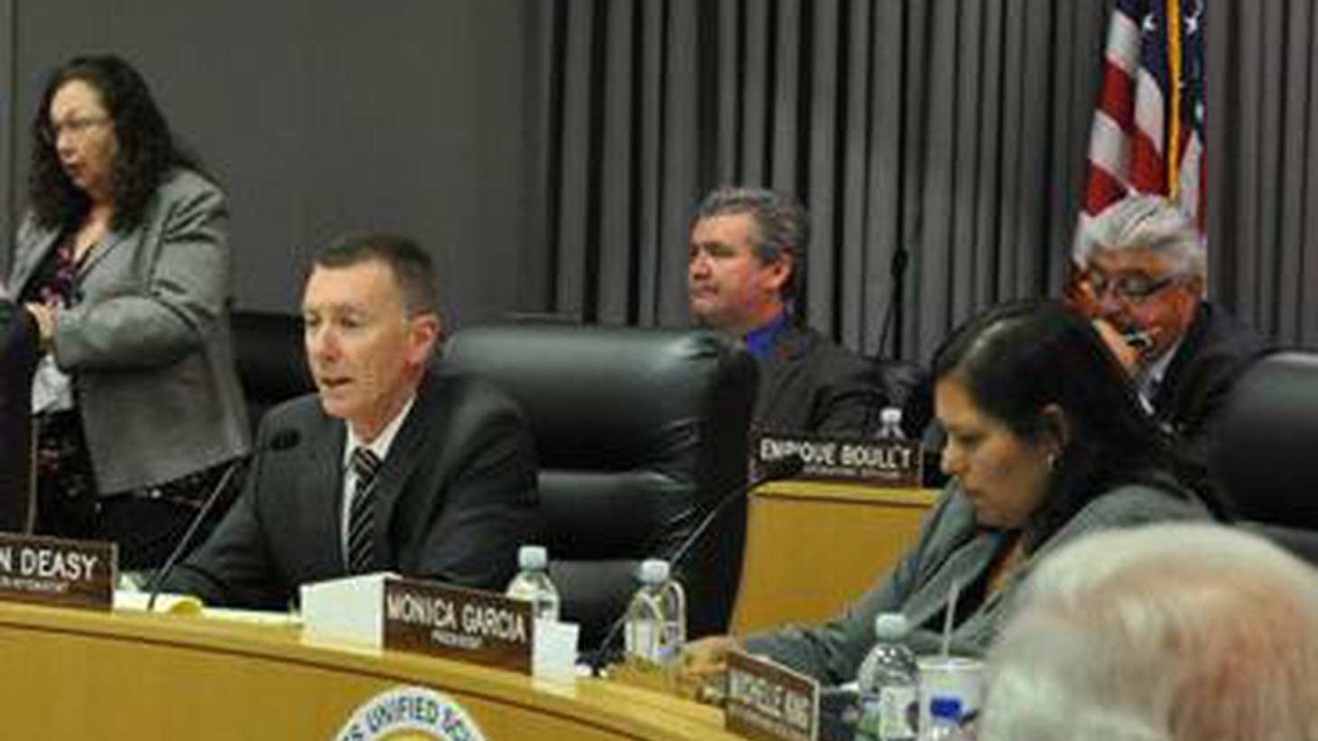 """After much uncertainty, Superintendent John Deasy got a """"satisfactory"""" rating from the LAUSD School Board. He'll stay on until 2016. Can they really work together?"""