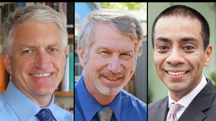 Four of seven LAUSD board members are up for election next month. We hear from 5th District incumbent Bennett Kayser and his challengers.