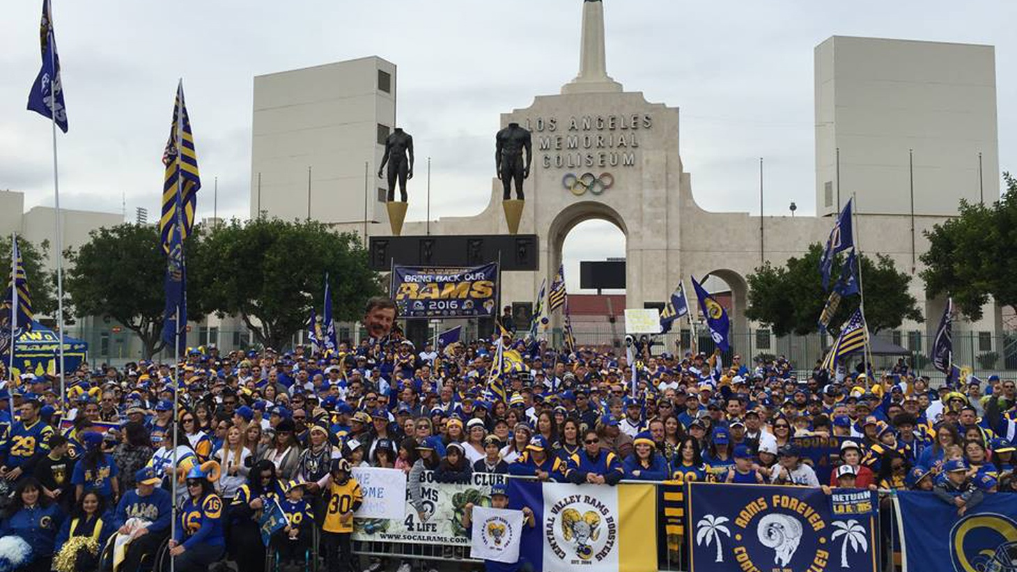 Since the Rams and the Raiders left 21 years ago, NFL team owners have threatened smaller market cities: if they don't come up with big money, their teams will move to LA. Yesterday, the  owners voted to move the Rams  from St. Louis, Missouri to Inglewood. Is it for real?