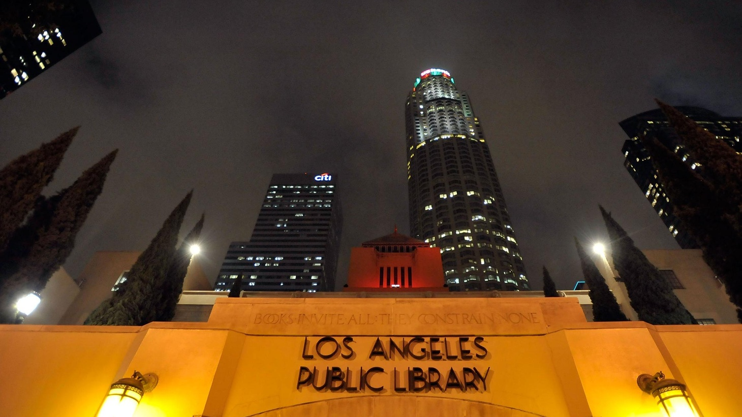 All 73 public libraries in the City of LA are closed two days a week, depriving residents of an all-American service that goes back to Ben Franklin. Measure L on next week's ballot would provide new library money without raising taxes. But opponents say that's the rub. Also, how the new Lakers-Time Warner deal will hit the pocketbooks of all cable subscribers, and the race to replace Councilman Greig Smith. On our rebroadcast of To the Point, al Qaeda and the challenge of people power.