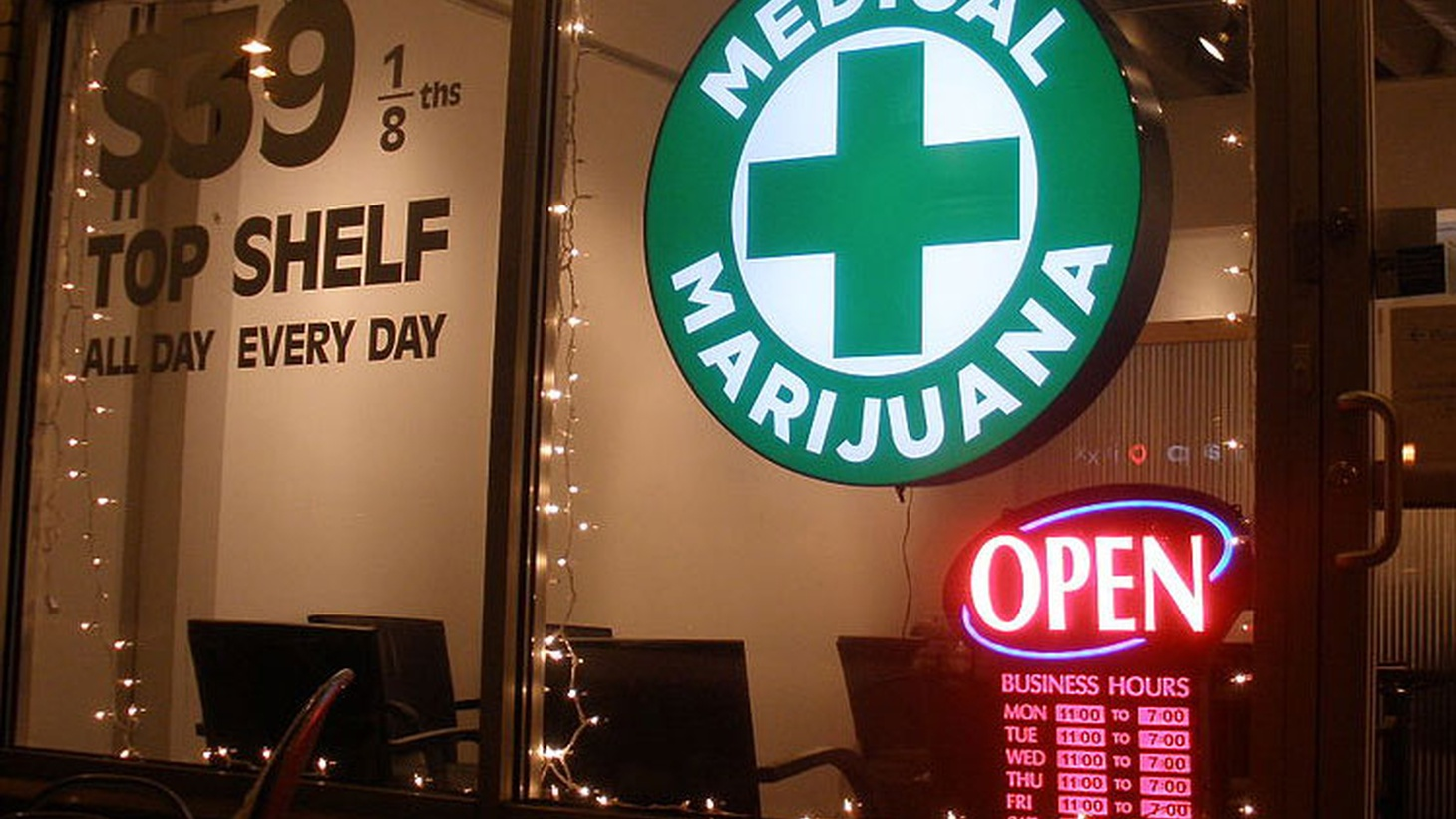 About 135 medical marijuana clinics are legal in Los Angeles, but 945 are registered to pay taxes. That means big revenue for the city -- from illegal businesses. We hear why some council members want that to end, even though the city always needs money.