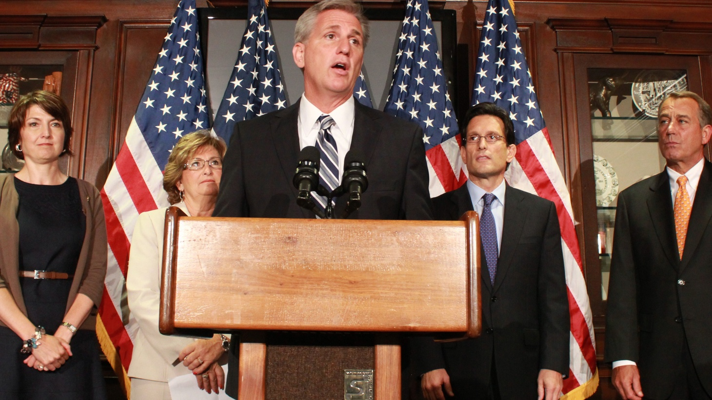 Kevin McCarthy was chosen today by fellow Republicans as Majority Leader in Congress, the one who decides what legislation actually gets to the floor.