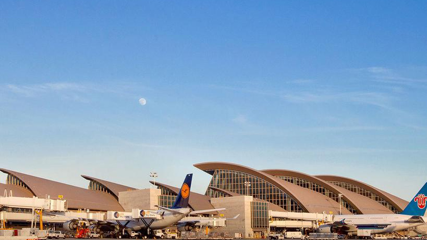 The new, $1.9B Tom Bradley International Terminal opened today, designed to reflect LA and attract travelers from Asia — where they're used to the world's best airports.